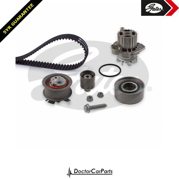 Gates Timing Cam Belt and Water Pump Kit for AUDI A4 2.0 TDI B7 BLB BNA BVF 8E