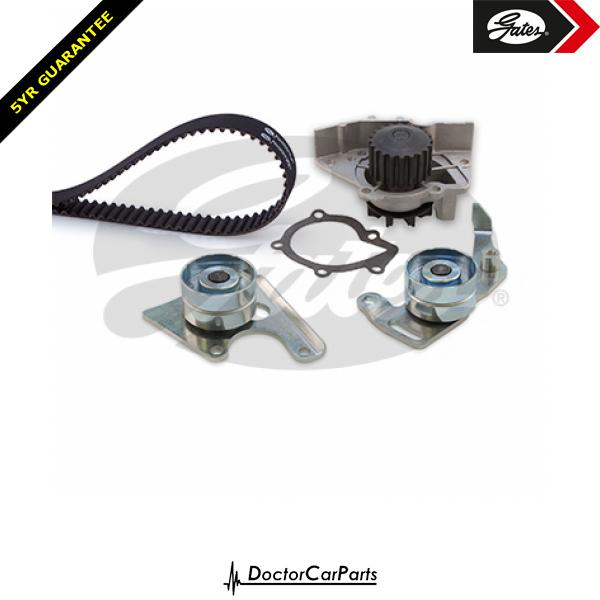 Gates Timing Cam Belt and Water Pump Kit for PEUGEOT BOXER 1.9 D TD