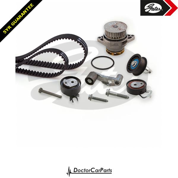 Gates Timing Cam Belt and Water Pump Kit for VW LUPO 1.6 GTI AVY 125bhp
