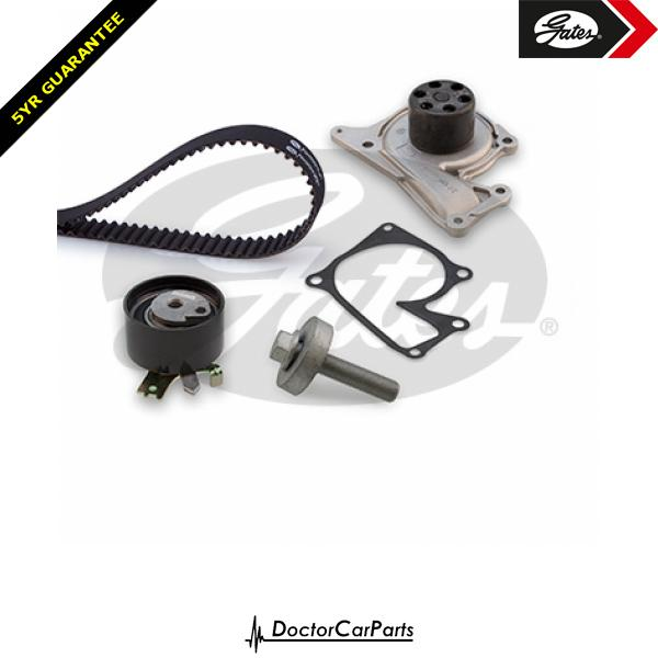 Gates Timing Cam Belt and Water Pump Kit for NISSAN JUKE 1.5 dCi K9K 636 110bhp
