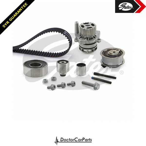 Gates Timing Cam Belt and Water Pump Kit for VW GOLF 1.6 2.0 CHOICE1/2 TDI 5K