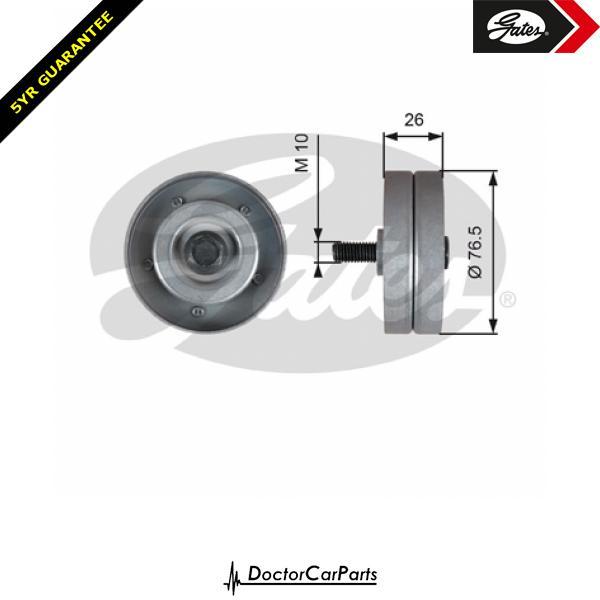Gates Belt Idler Pulley Alternator for VAUXHALL COMBO 1.7 CDTI DI DTI W/Ac C