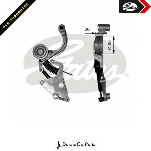 Gates Belt Tensioner Pulley Alternator for MINI R50 R53 1.6 CHOICE2/2 S