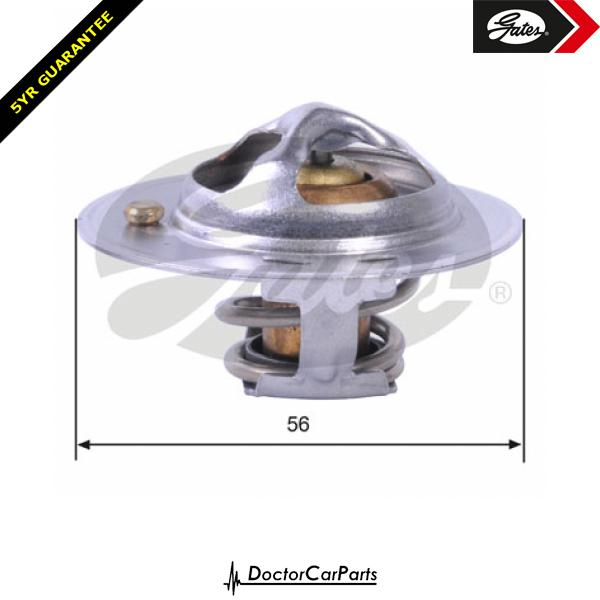 Gates Thermostat for SUBARU LEGACY 2.5 EJ25 EJ25D Mk III