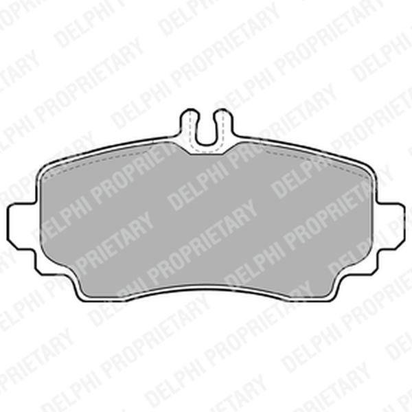 Brake Pads FRONT A Vaneo LP1401 Clearance Item