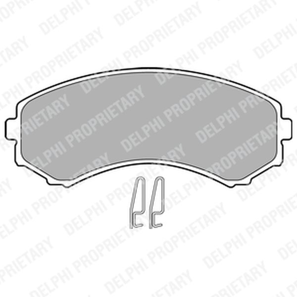 Brake Pads FRONT LP1462 Clearance Item