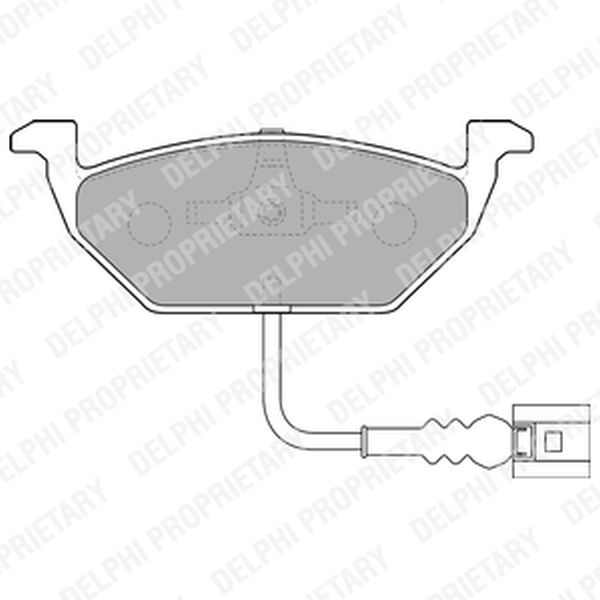 Brake Pads FRONT LP1514 Clearance Item