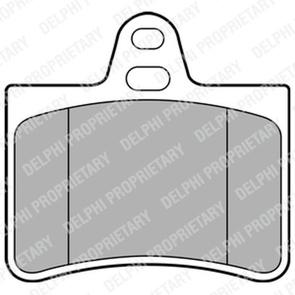 Brake Pads REAR C5 A6 Allroad LP1680 Clearance Item