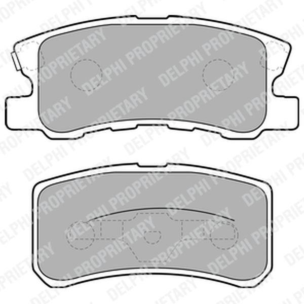 Brake Pads LP1691 Clearance Item