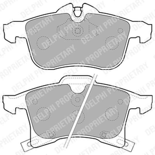 Brake Pads FRONT LP1861 Clearance Item