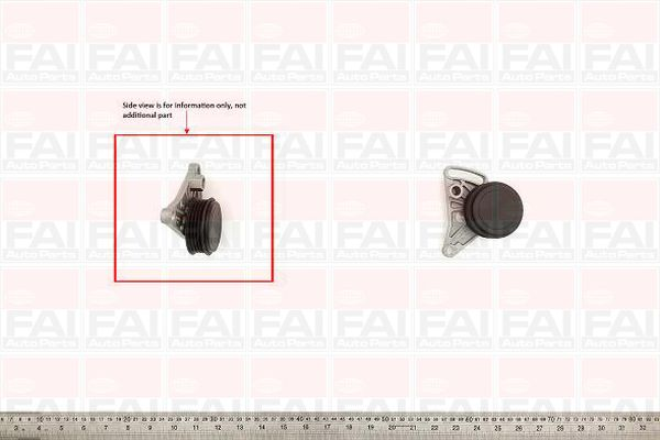 Belt Tensioner Pulley for SKODA SUPERB 1.8 AWT Petrol FAI