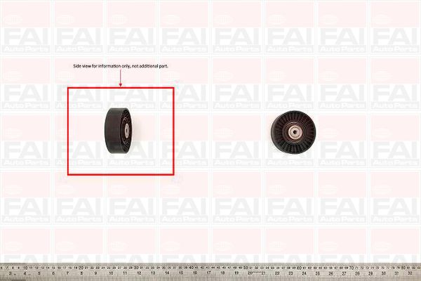 Belt Tensioner Pulley for VW GOLF 1.8 1H AAM/ABS/ADZ Cabriolet/Mk3 Petrol FAI