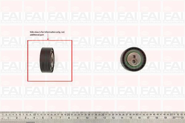 Belt Tensioner Pulley ALT for FIAT SCUDO 1.9/2.0 w/powersteer DW8/RHX/RHZ FAI