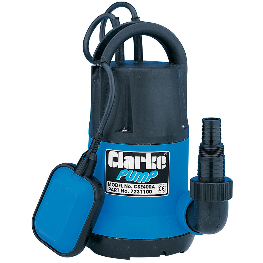 Clarke Cse400a 1 25 Quot Submersible Water Pump 400 Watt 230v