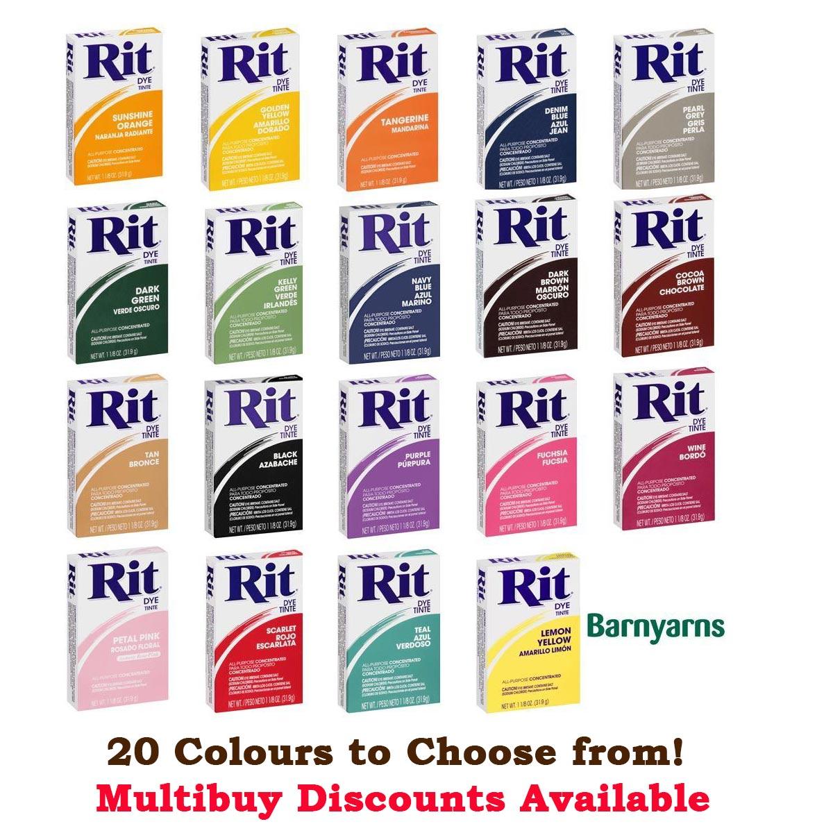 Fabric dye ebay rit dye powder 319g dyes natural fabrics nylon based plastic wood nvjuhfo Images