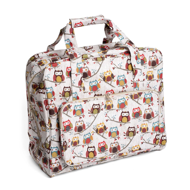 Details About Sewing Machine Bag Hoot Owls Pvc 20x43x37cm