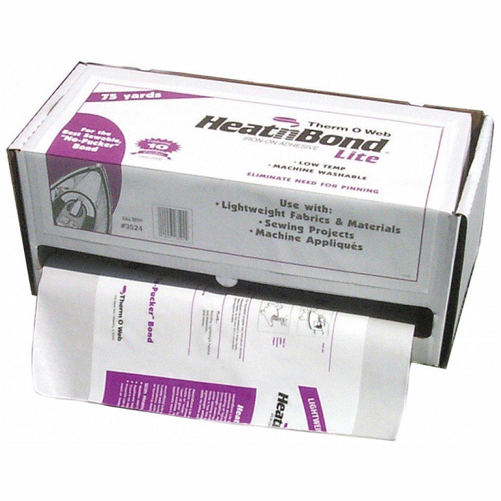 "43cm x 68m HeatnBond Lite Full Box 17/"" x 75 yds Heat and Bond Lite Adhesive"
