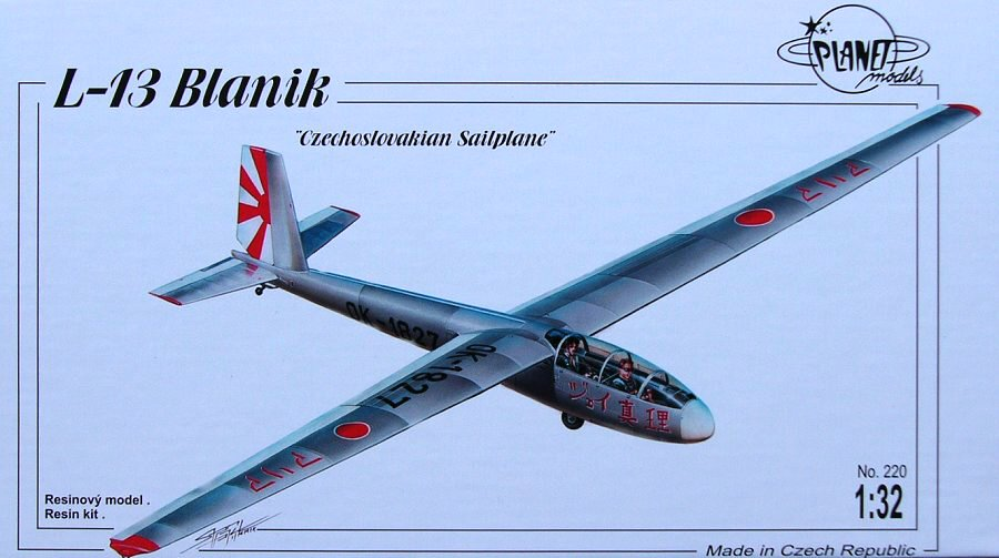 Planet 1 32 L-13 Blanik Glider