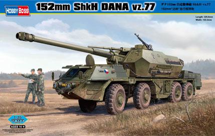 Hobby Boss 1 35 152mm ShkH Dana vz. 77