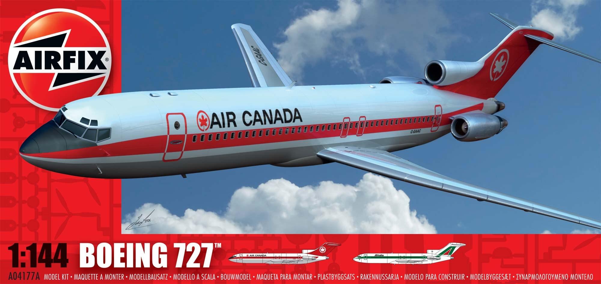 Airfix-1-144-Boeing-727-A04177A