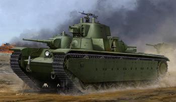 Hobby Boss 1 35 Soviet T-35 Heavy Tank (Late) @