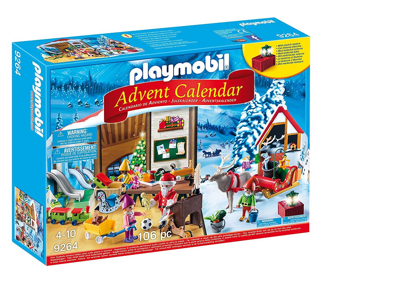 Calendario Avvento Playmobil.Dettagli Su Playmobil Calendario Avvento Babbo Natale Officina Con Elettronico Lanterna