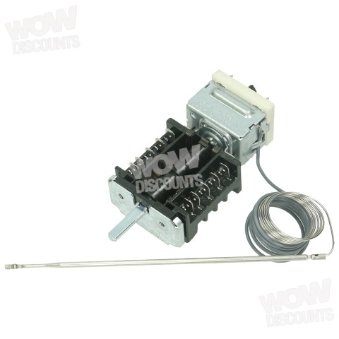 Details about Rangemaster Leisure Flavel Thermostat / Function Selector  Switch A033658