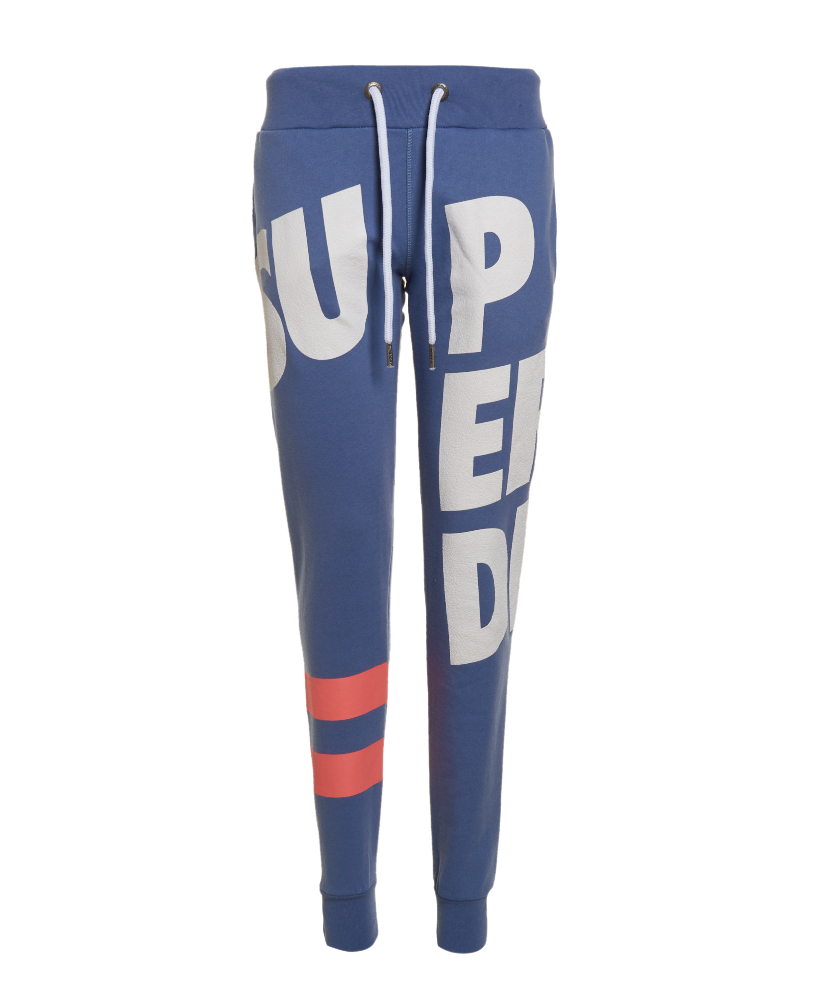 43e8fc2db1c444 New Womens Superdry Factory Second Sian Super Joggers Dull Blue | eBay