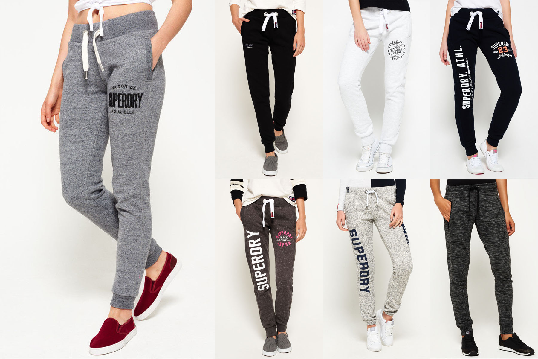 bed532bb7948df New Womens Superdry Joggers Selection - Various Styles & Colours ...