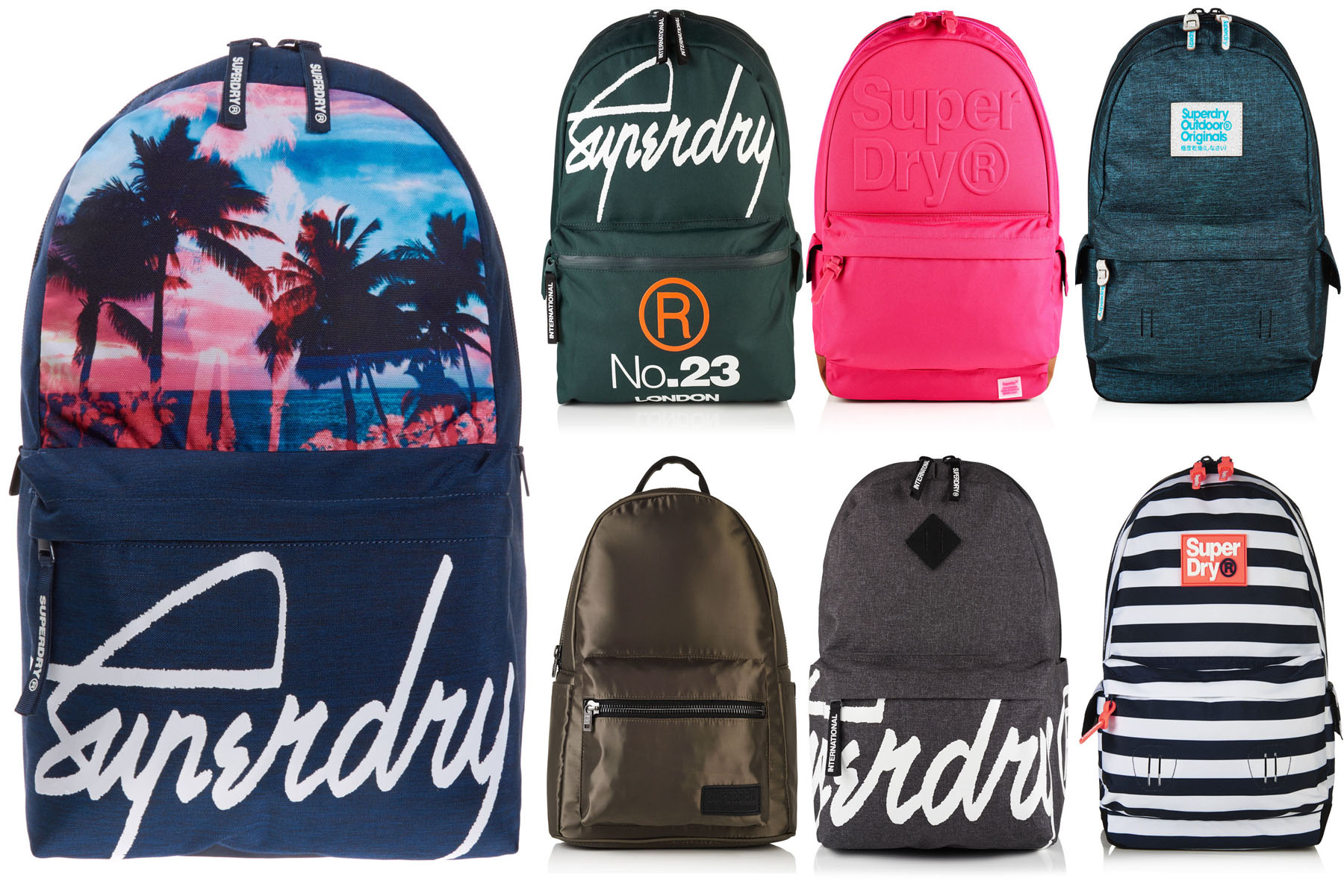 Sentinel New Superdry Bags Selection Various Styles Colours 0307