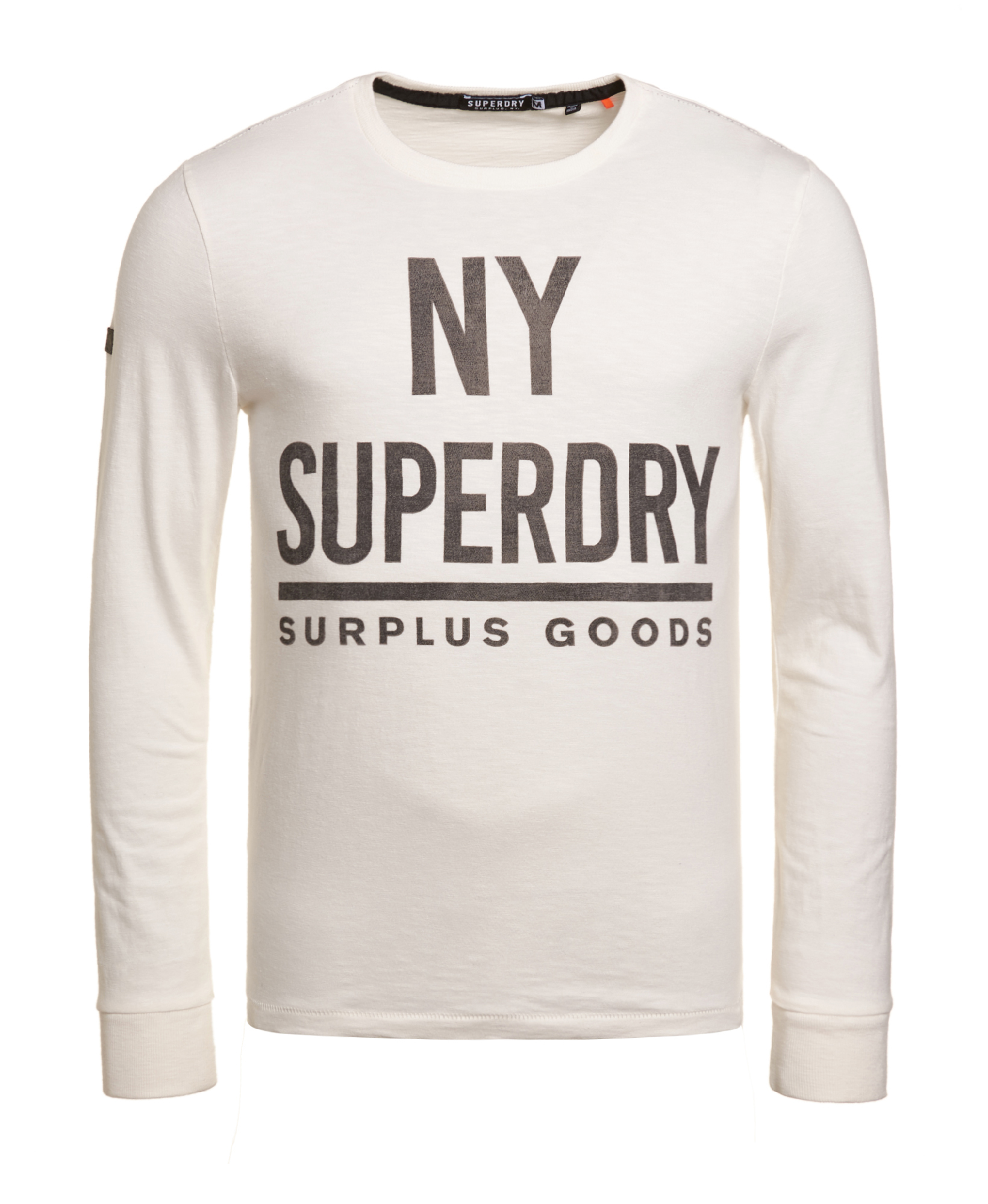 f5bf5bbd Sentinel New Mens Superdry Surplus Goods Graphic T-Shirt Tribeca White