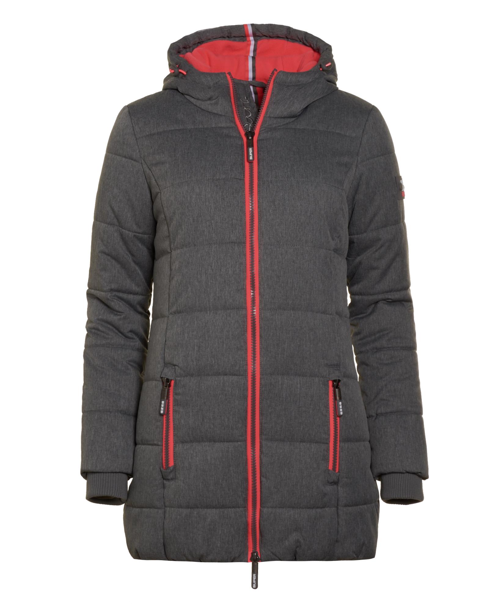 Puffer Superdry Ebay Tall Sports Neue Meliert Grau Damen Jacke q8PpwpI5