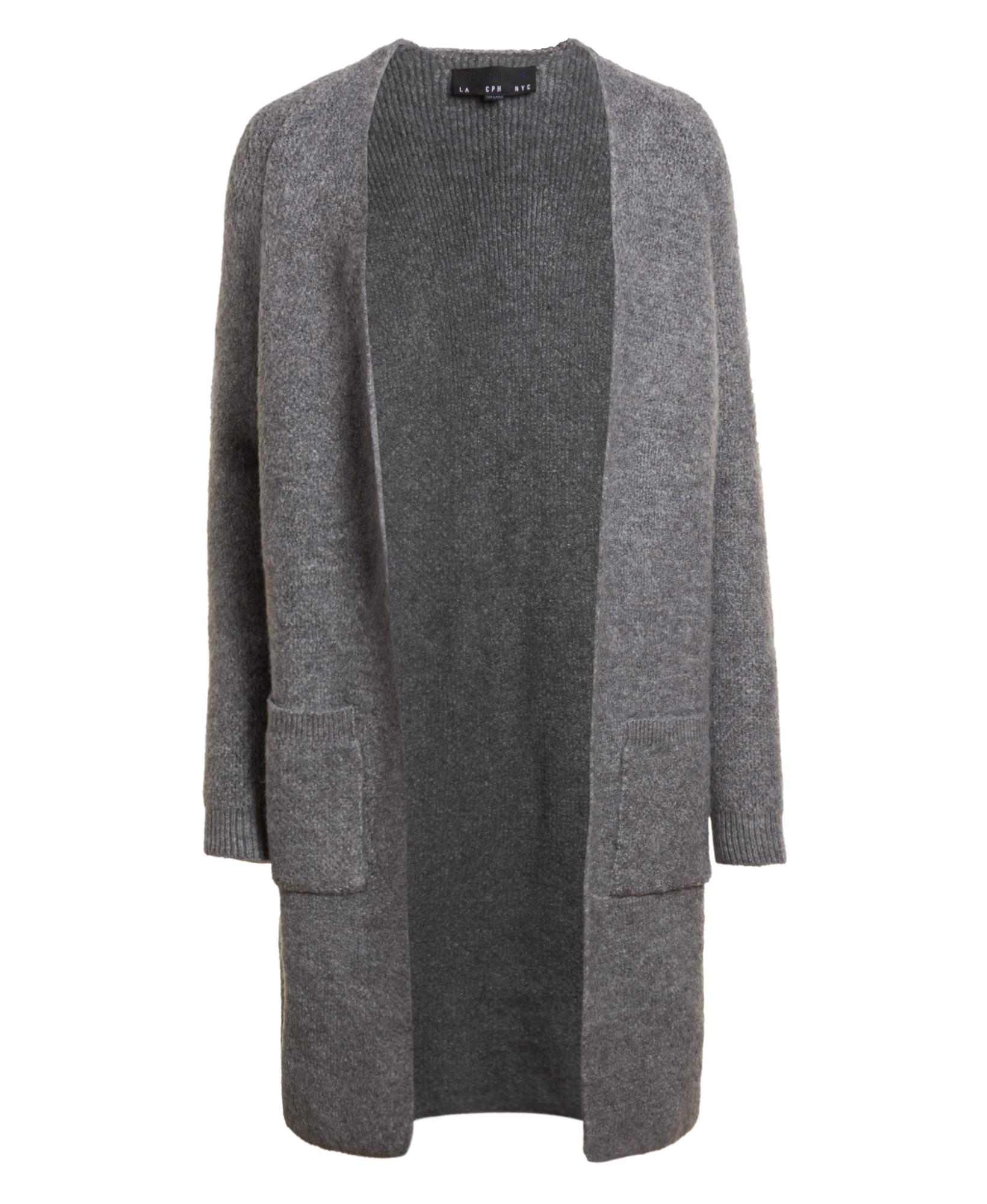 New Womens Superdry Anya Longline Cardigan Grey Marl   eBay