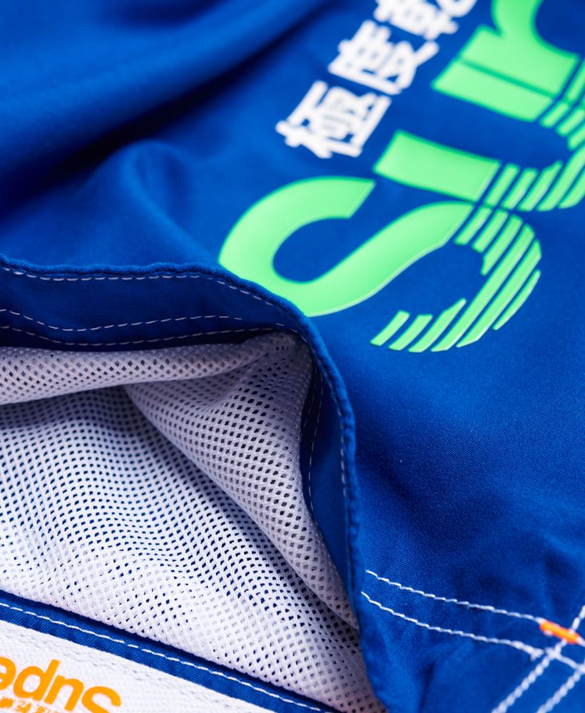 6e049f7cde Sentinel New Mens Superdry Superdry Boardshorts Voltage Blue