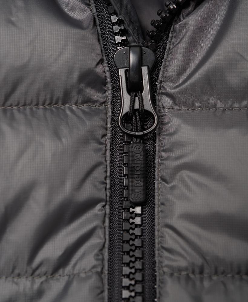 d9a9a3f65d40 Sentinel Superdry Doudoune sans manches Core Luxe Pour femme Gris