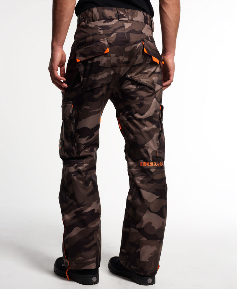 new mens superdry snow pants camo ebay. Black Bedroom Furniture Sets. Home Design Ideas