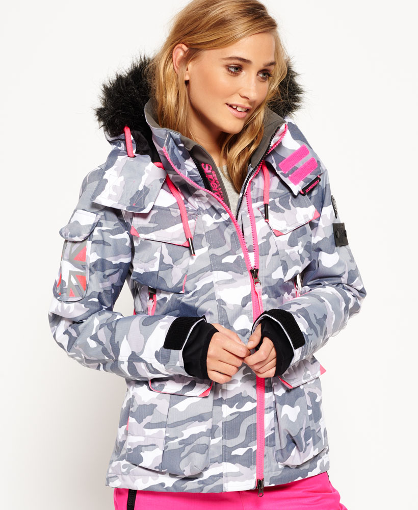 0cf5c135ad Sentinel New Womens Superdry Ultimate Snow Service Jacket Snow Camo