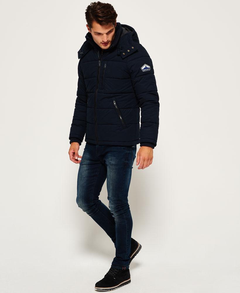 new mens superdry bluestone jacket navy ebay. Black Bedroom Furniture Sets. Home Design Ideas