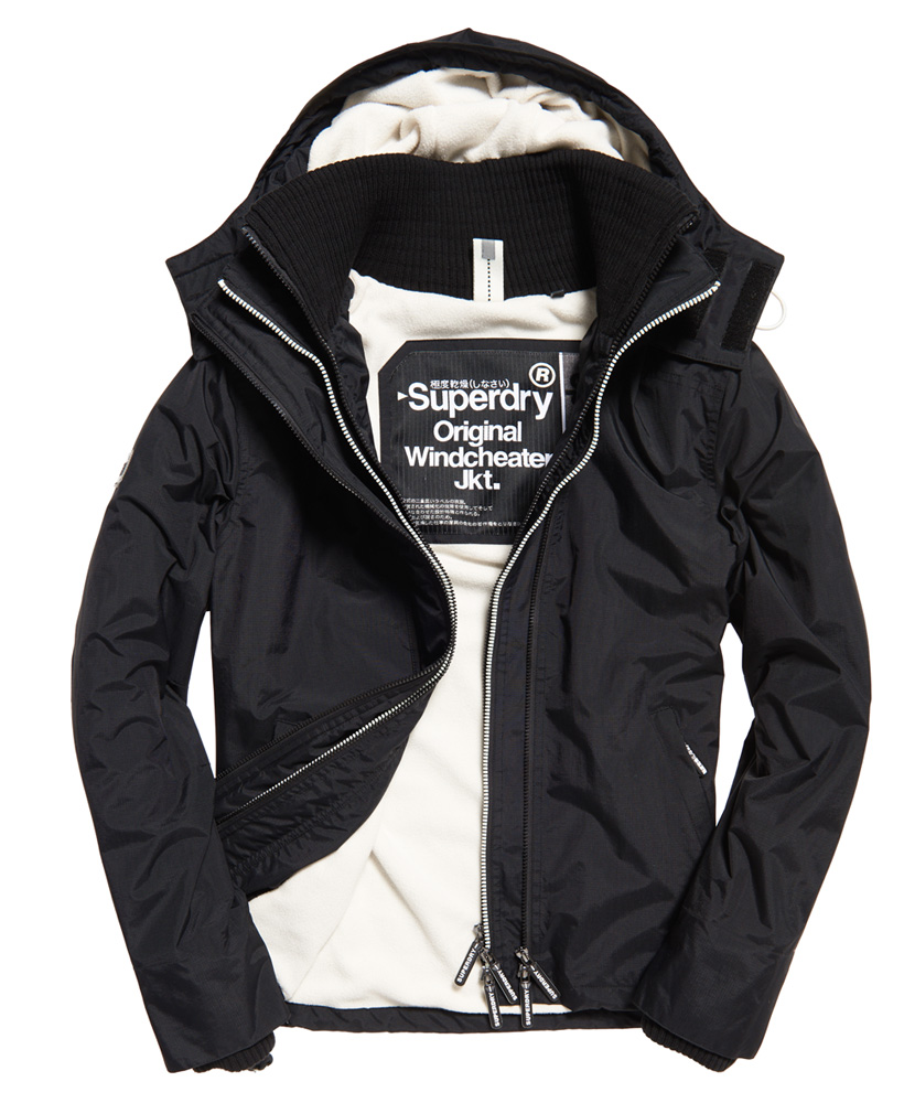 neue herren superdry pop arctic windcheater mit kapuze und. Black Bedroom Furniture Sets. Home Design Ideas