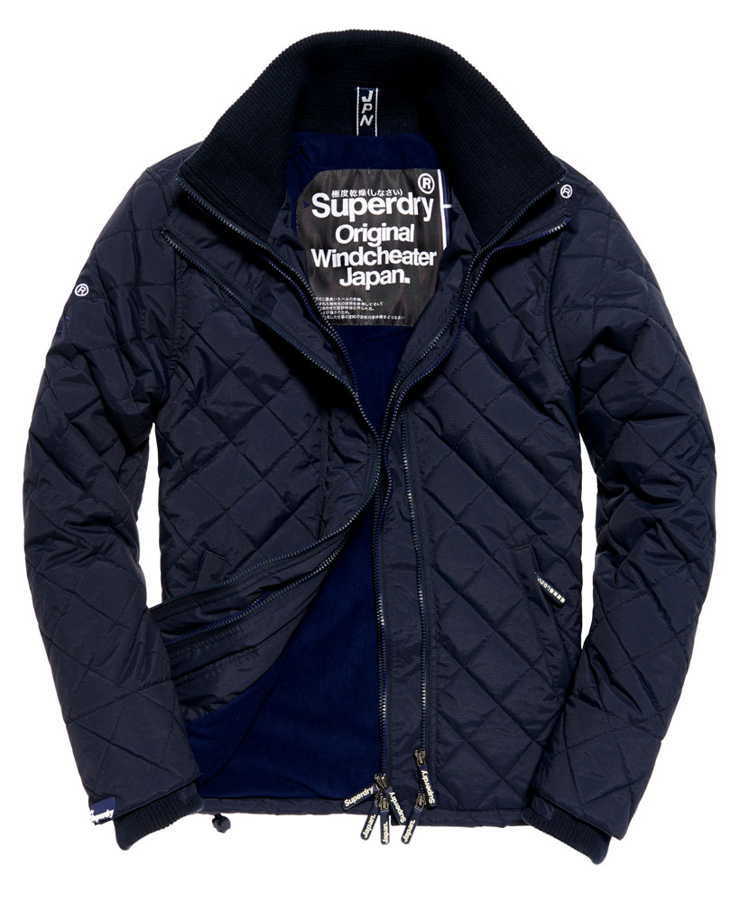 neue herren superdry quilted arctic windcheater jacke. Black Bedroom Furniture Sets. Home Design Ideas