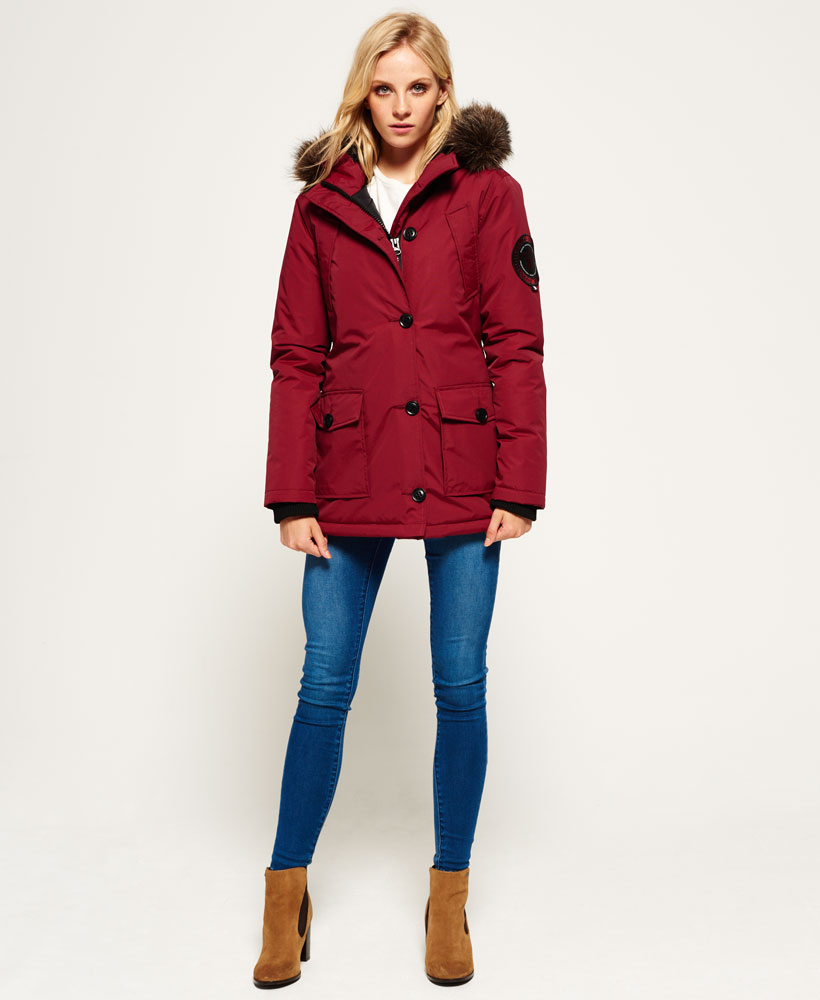 Superdry everest parka jacket womens