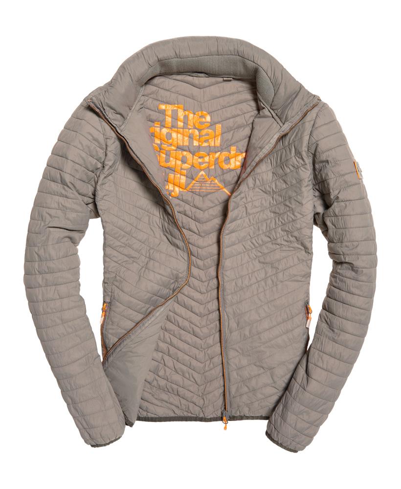 buy online 32f0b 8620f Herren Jacke Superdry Vint.Fuji Jacket M50002DO 05Q Grey ...