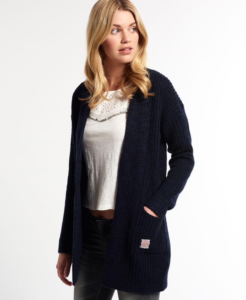 Cbxqp8wax New Ebay Navy Cardigan Rib Superdry Aspin Womens FOqOCRw