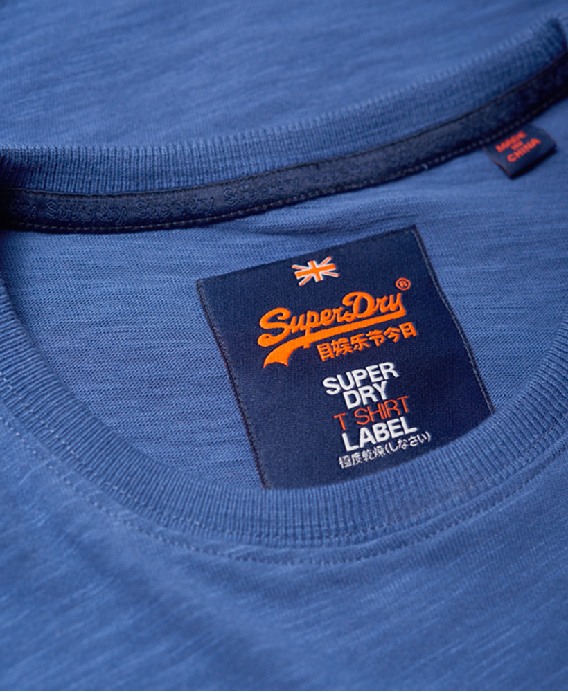 bbf5f998 Sentinel New Mens Superdry Premium Goods Duo T-Shirt Frontier Blue