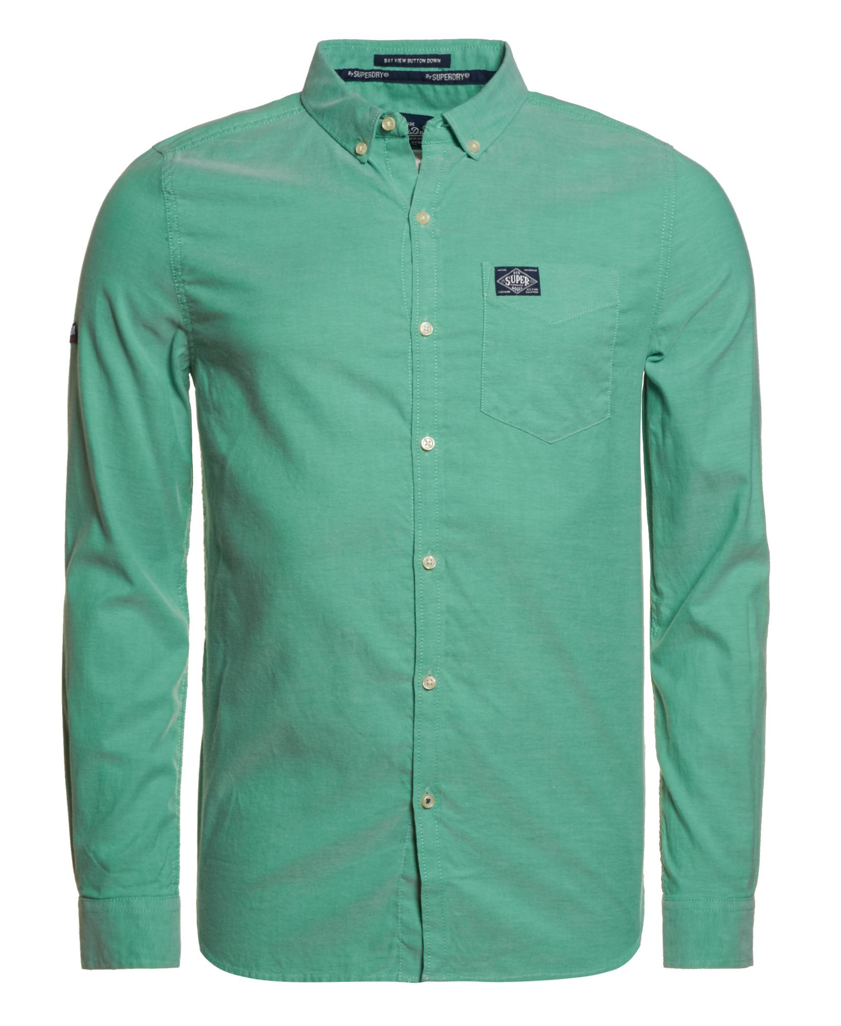 Neues herren superdry bay view button down shirt college for College button down shirts