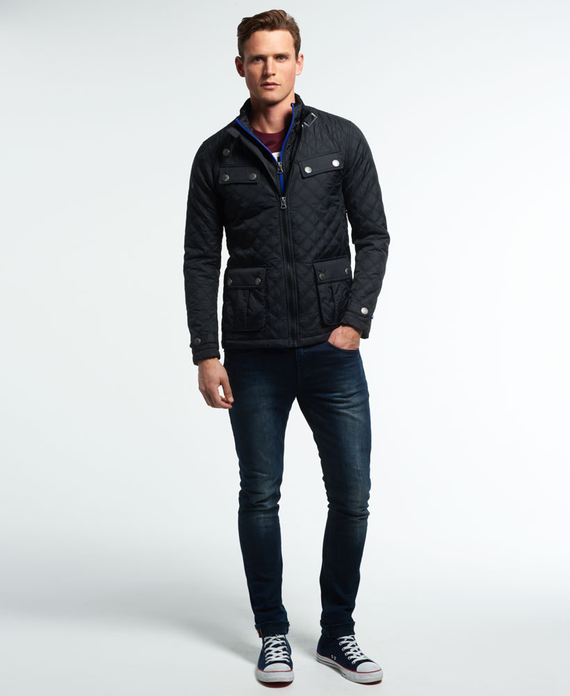 a9eafa4cbe7d2e Ebay Quilt Black Jacket Superdry New Apex Mens qwZcYB