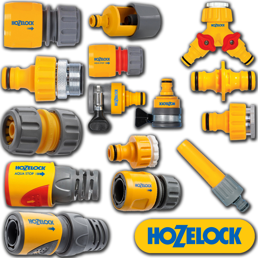 Hozelock Quick Connect Easy To Use Outdoor Hose Connector