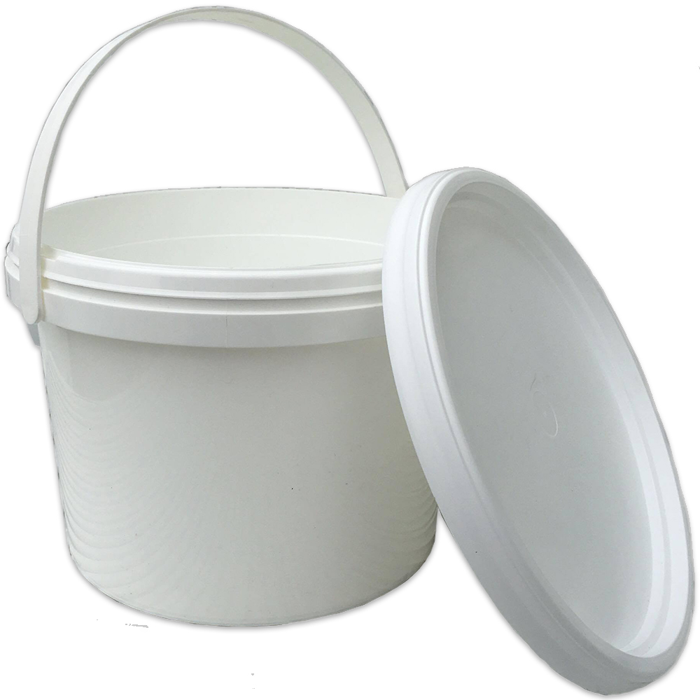 Gardeners Dream White 25 Litre Plastic Storage Tub With Lid