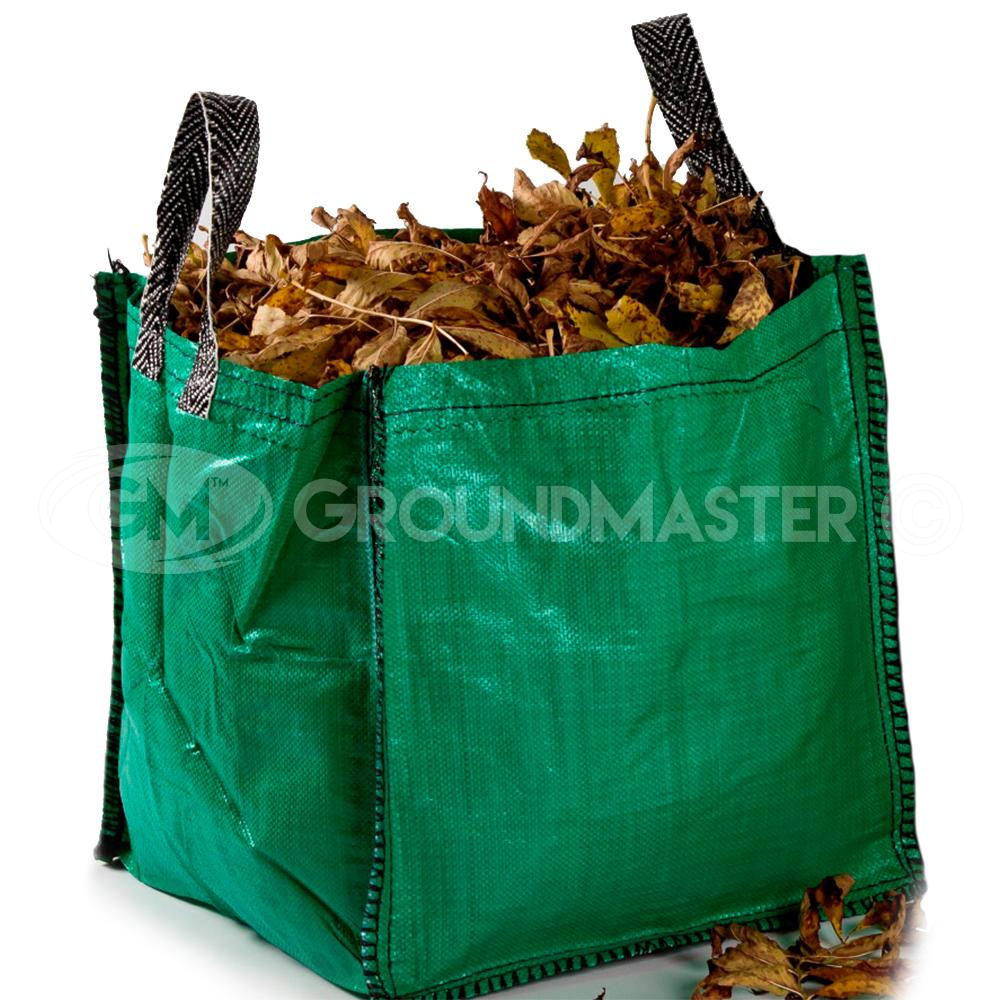 Groundmaster 120l Garden Waste Bags Heavy Duty Large