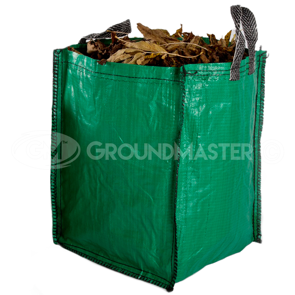 Groundmaster 120l Garden Waste Bags Heavy Duty Large
